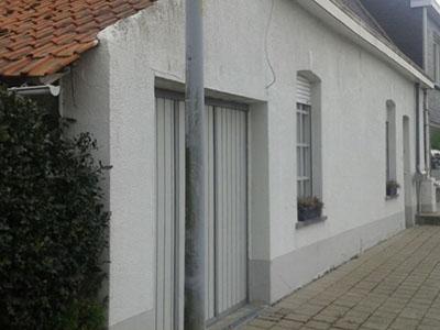 Rénovation façade - avant